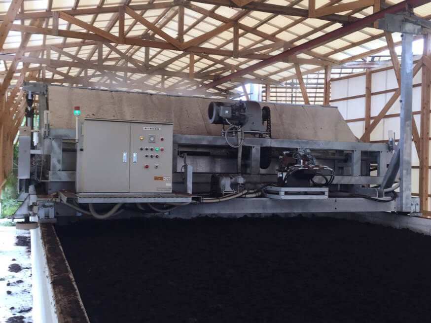 ロータリー攪拌発酵機